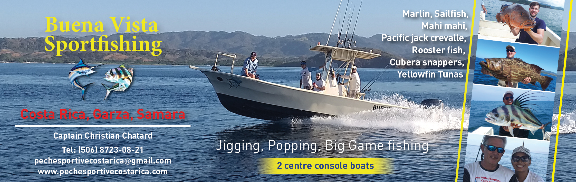 Banner Buena Vista Sport Fishing